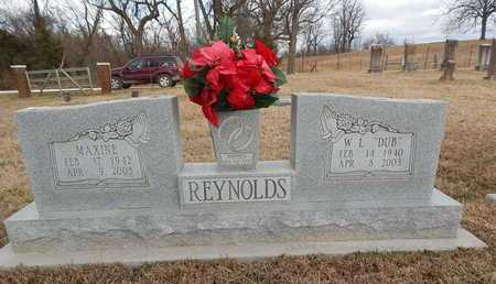 REYNOLDS, W. L.   (DUB) - Boone County, Arkansas | W. L.   (DUB) REYNOLDS - Arkansas Gravestone Photos