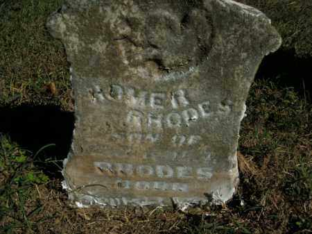 RHODES, HOMER - Boone County, Arkansas | HOMER RHODES - Arkansas Gravestone Photos