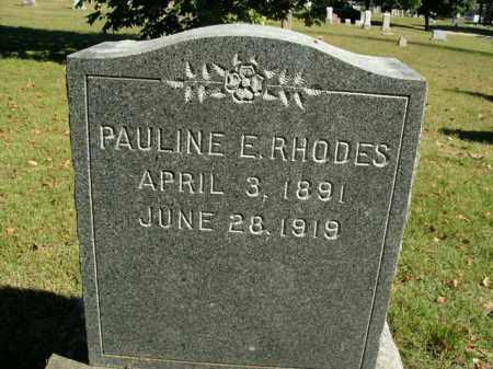 RHODES, PAULINE E. - Boone County, Arkansas | PAULINE E. RHODES - Arkansas Gravestone Photos