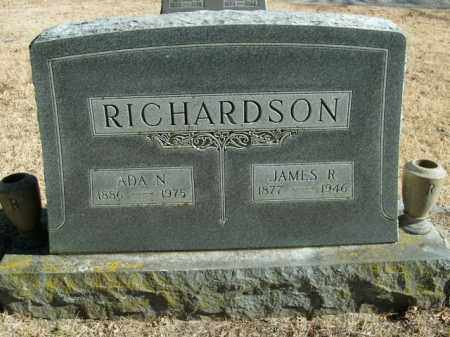 RICHARDSON, JAMES R. - Boone County, Arkansas | JAMES R. RICHARDSON - Arkansas Gravestone Photos