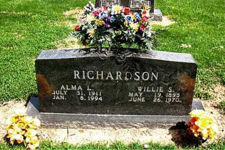 RICHARDSON, ALMA L - Boone County, Arkansas | ALMA L RICHARDSON - Arkansas Gravestone Photos