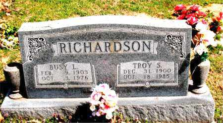 RICHARDSON, BUSY  L. - Boone County, Arkansas | BUSY  L. RICHARDSON - Arkansas Gravestone Photos