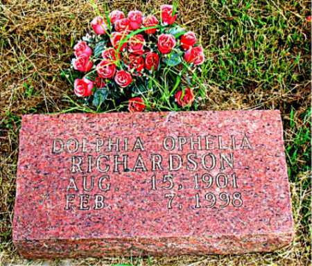 RICHARDSON, DOLPHIA OPHELIA - Boone County, Arkansas | DOLPHIA OPHELIA RICHARDSON - Arkansas Gravestone Photos