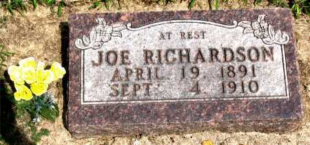 RICHARDSON, JOE - Boone County, Arkansas | JOE RICHARDSON - Arkansas Gravestone Photos