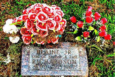 RICHARDSON JR., BLAIN - Boone County, Arkansas | BLAIN RICHARDSON JR. - Arkansas Gravestone Photos
