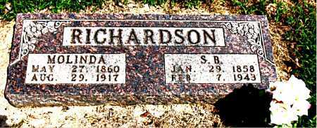 RICHARDSON, MOLINDA - Boone County, Arkansas | MOLINDA RICHARDSON - Arkansas Gravestone Photos