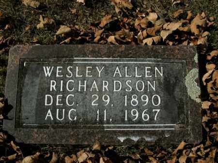 RICHARDSON, WESLEY ALLEN - Boone County, Arkansas | WESLEY ALLEN RICHARDSON - Arkansas Gravestone Photos