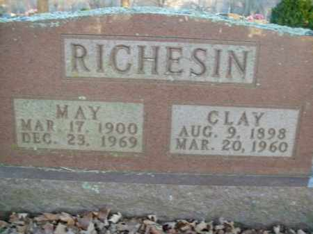 RICHESIN, CLAY - Boone County, Arkansas | CLAY RICHESIN - Arkansas Gravestone Photos