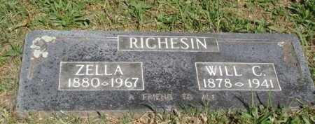 RICHESIN, WILL C. - Boone County, Arkansas | WILL C. RICHESIN - Arkansas Gravestone Photos