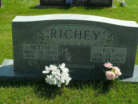 RICHEY, JOHN ROY - Boone County, Arkansas | JOHN ROY RICHEY - Arkansas Gravestone Photos