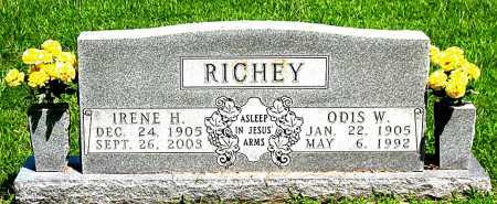 RICHEY, IRENE H - Boone County, Arkansas | IRENE H RICHEY - Arkansas Gravestone Photos