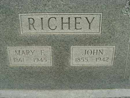 RICHEY, JOHN - Boone County, Arkansas | JOHN RICHEY - Arkansas Gravestone Photos