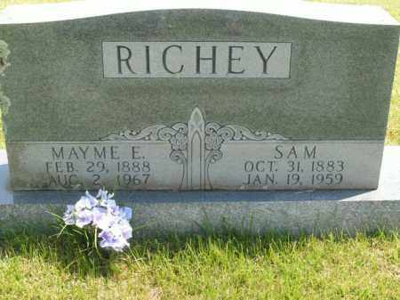 RICHEY, SAM - Boone County, Arkansas | SAM RICHEY - Arkansas Gravestone Photos
