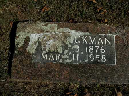 RICKMAN, ROBERT LEROY - Boone County, Arkansas | ROBERT LEROY RICKMAN - Arkansas Gravestone Photos