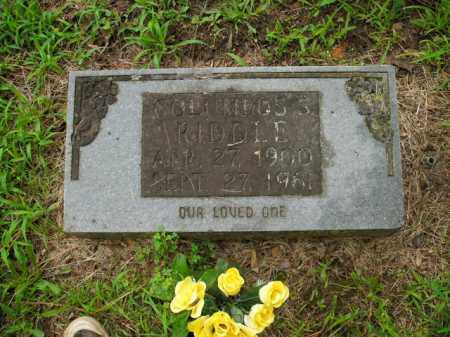 RIDDLE, COLUMBUS S - Boone County, Arkansas | COLUMBUS S RIDDLE - Arkansas Gravestone Photos