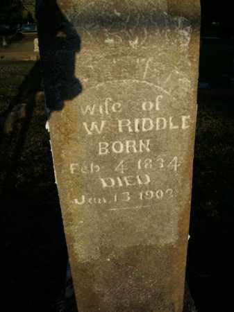 RIDDLE, DOTTIE M. - Boone County, Arkansas | DOTTIE M. RIDDLE - Arkansas Gravestone Photos
