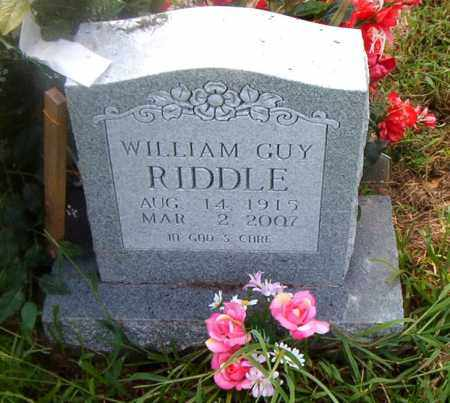 RIDDLE, WILLIAM GUY - Boone County, Arkansas | WILLIAM GUY RIDDLE - Arkansas Gravestone Photos