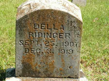 RIDINGER, DELLA - Boone County, Arkansas | DELLA RIDINGER - Arkansas Gravestone Photos