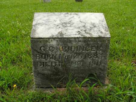 RIDINGER, G.C. - Boone County, Arkansas | G.C. RIDINGER - Arkansas Gravestone Photos