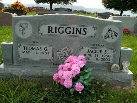 RIGGINS, JACKIE S. - Boone County, Arkansas | JACKIE S. RIGGINS - Arkansas Gravestone Photos