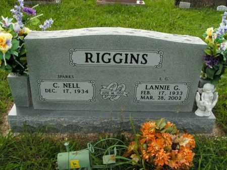 RIGGINS, LANNIE G. - Boone County, Arkansas | LANNIE G. RIGGINS - Arkansas Gravestone Photos