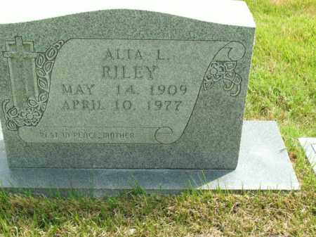RILEY, ALTA L. - Boone County, Arkansas | ALTA L. RILEY - Arkansas Gravestone Photos