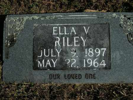 RILEY, ELLA V. - Boone County, Arkansas | ELLA V. RILEY - Arkansas Gravestone Photos