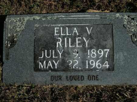 RILEY, ELLA V. - Boone County, Arkansas | ELLA V. RILEY - Arkansas Gravestone Photos