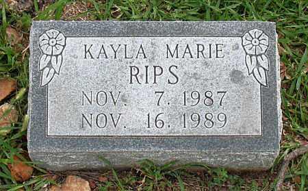 RIPS, KAYLA MARIE - Boone County, Arkansas | KAYLA MARIE RIPS - Arkansas Gravestone Photos