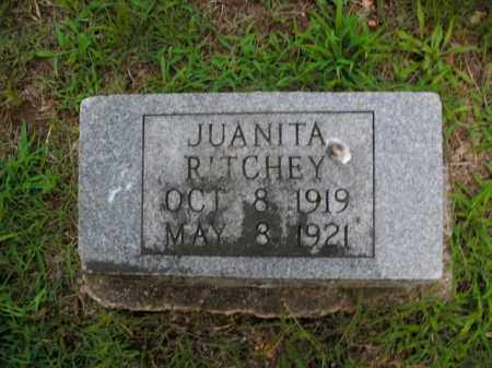 RITCHEY, JUANITA - Boone County, Arkansas | JUANITA RITCHEY - Arkansas Gravestone Photos