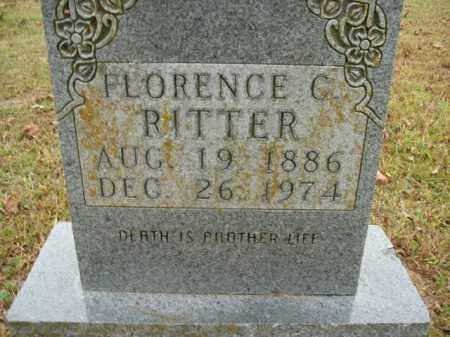 RITTER, FLORENCE C. - Boone County, Arkansas | FLORENCE C. RITTER - Arkansas Gravestone Photos