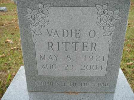 RITTER, VADIE O. - Boone County, Arkansas | VADIE O. RITTER - Arkansas Gravestone Photos