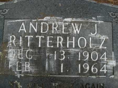 RITTERHOLZ, ANDREW J. - Boone County, Arkansas | ANDREW J. RITTERHOLZ - Arkansas Gravestone Photos