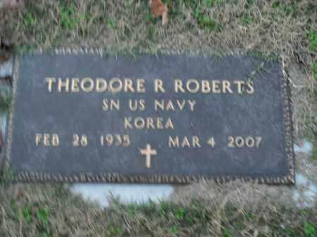 ROBERTS  (VETERAN KOR), THEODORE R - Boone County, Arkansas | THEODORE R ROBERTS  (VETERAN KOR) - Arkansas Gravestone Photos