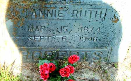ROBERTS, ANNIE RUTH - Boone County, Arkansas | ANNIE RUTH ROBERTS - Arkansas Gravestone Photos