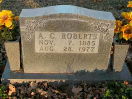 ROBERTS, A.C. - Boone County, Arkansas | A.C. ROBERTS - Arkansas Gravestone Photos
