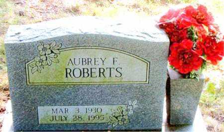 ROBERTS, AUBREY  F. - Boone County, Arkansas | AUBREY  F. ROBERTS - Arkansas Gravestone Photos