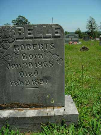 ROBERTS, BELLE - Boone County, Arkansas | BELLE ROBERTS - Arkansas Gravestone Photos