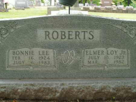 ROBERTS, JR, ELMER LOY - Boone County, Arkansas | ELMER LOY ROBERTS, JR - Arkansas Gravestone Photos