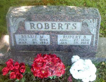ROBERTS, RUPERT  B. - Boone County, Arkansas | RUPERT  B. ROBERTS - Arkansas Gravestone Photos