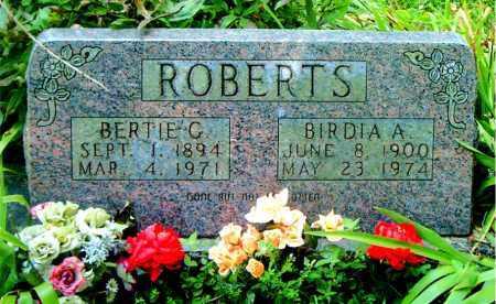 ROBERTS, BIRDIA  A. - Boone County, Arkansas | BIRDIA  A. ROBERTS - Arkansas Gravestone Photos