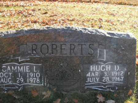 ROBERTS, HUGH D. - Boone County, Arkansas | HUGH D. ROBERTS - Arkansas Gravestone Photos