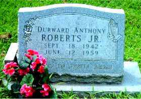 ROBERTS, DURWARD  ANTHONY - Boone County, Arkansas | DURWARD  ANTHONY ROBERTS - Arkansas Gravestone Photos