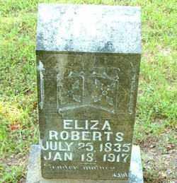 ROBERTS, ELIZA - Boone County, Arkansas | ELIZA ROBERTS - Arkansas Gravestone Photos