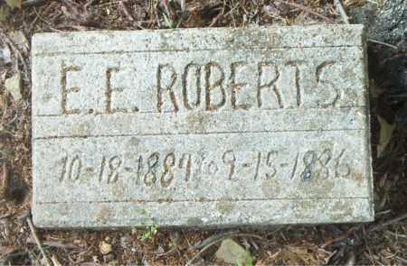 ROBERTS, E.  E. - Boone County, Arkansas | E.  E. ROBERTS - Arkansas Gravestone Photos