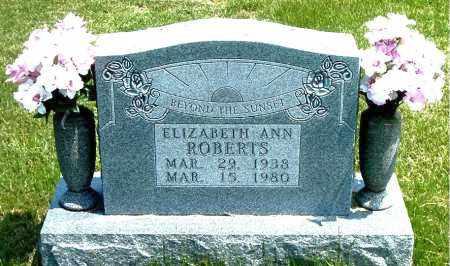ROBERTS, ELIZABETH ANN - Boone County, Arkansas | ELIZABETH ANN ROBERTS - Arkansas Gravestone Photos