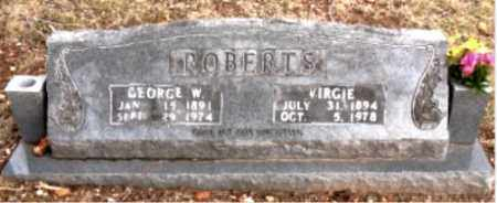 ROBERTS, VIRGIE - Boone County, Arkansas | VIRGIE ROBERTS - Arkansas Gravestone Photos