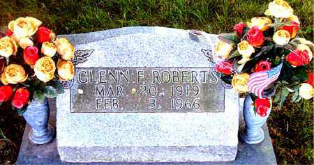 ROBERTS, GLENN  F. - Boone County, Arkansas | GLENN  F. ROBERTS - Arkansas Gravestone Photos