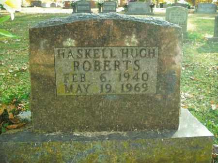 ROBERTS, HASKELL HUGH - Boone County, Arkansas   HASKELL HUGH ROBERTS - Arkansas Gravestone Photos