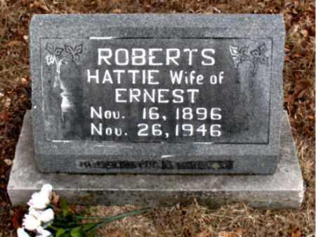 ROBERTS, HATTIE - Boone County, Arkansas | HATTIE ROBERTS - Arkansas Gravestone Photos